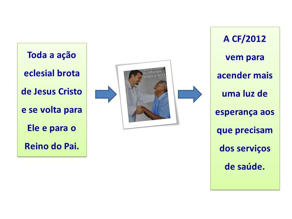 A CF/2012 vem para acender mais uma luz de esperança aos que precisam dos serviços de saúde.