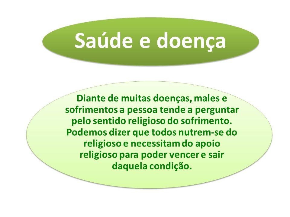 Diante de muitas doenças, males e sofrimentos a pessoa tende a perguntar pelo sentido religioso do sofrimento.
