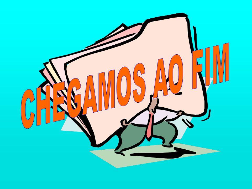 CHEGAMOS AO FIM