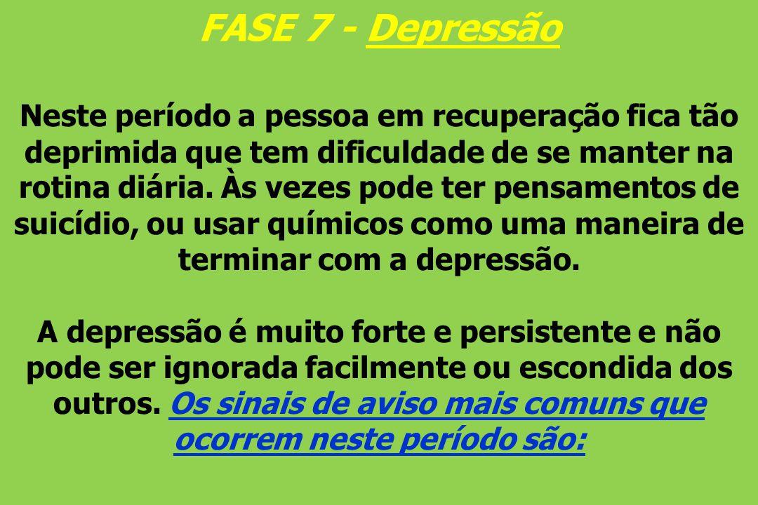 FASE 7 - Depressão