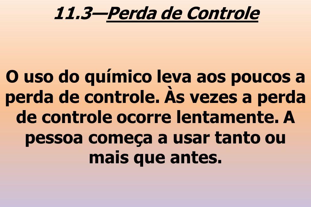 11.3—Perda de Controle