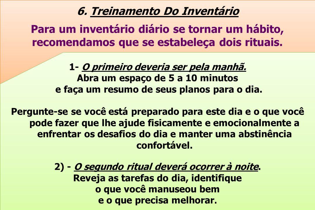 6. Treinamento Do Inventário