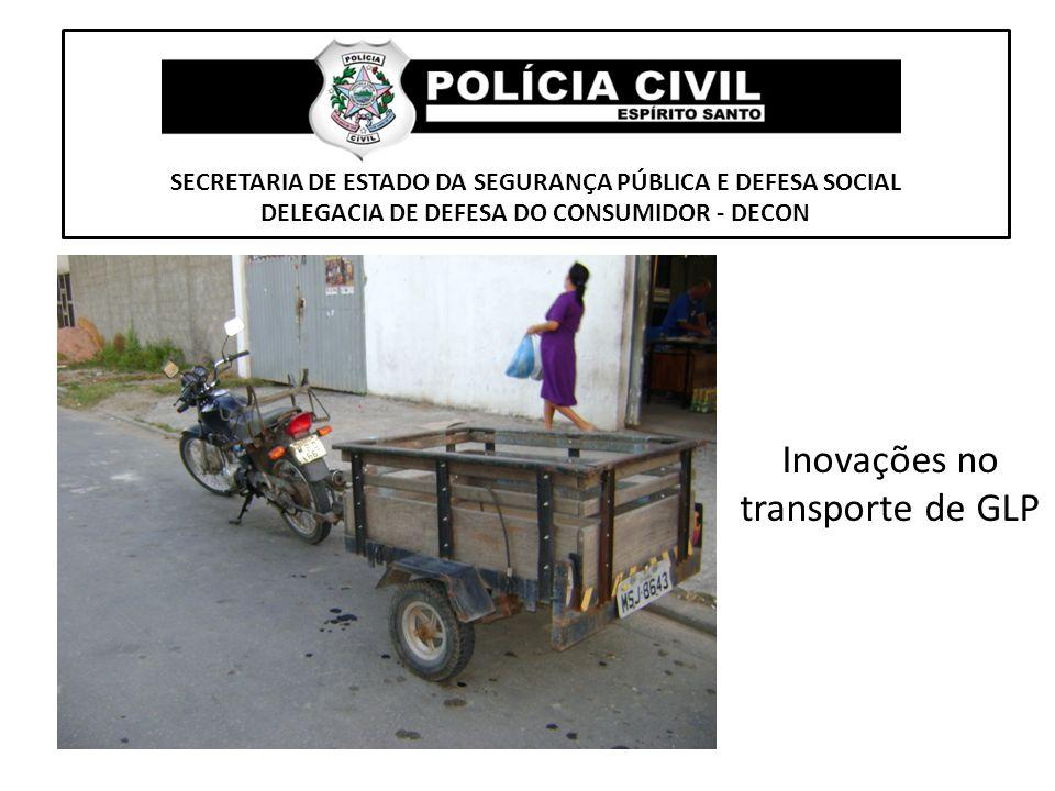 Inovações no transporte de GLP