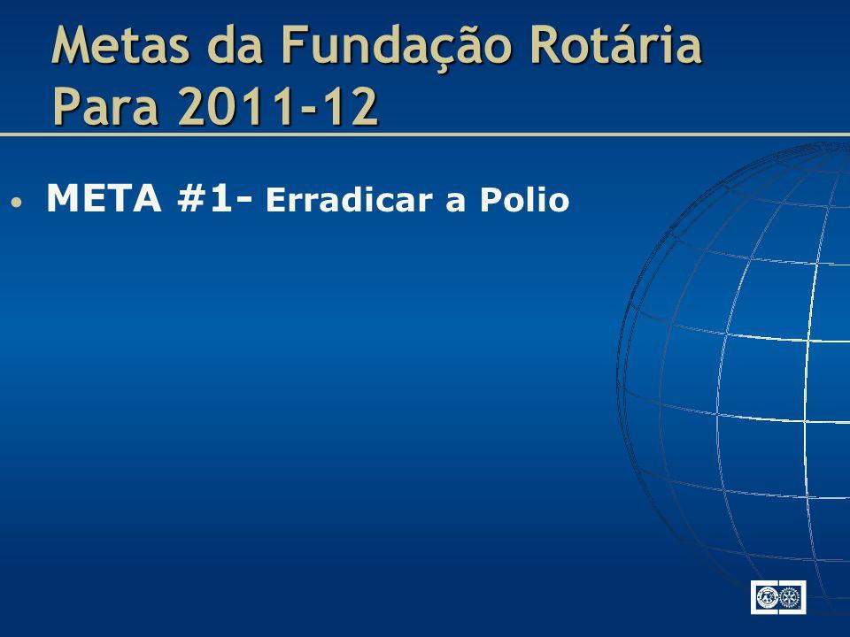 Metas da Fundação Rotária Para 2011-12
