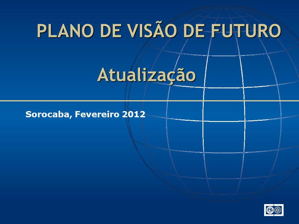 PLANO DE VISÃO DE FUTURO Atualização