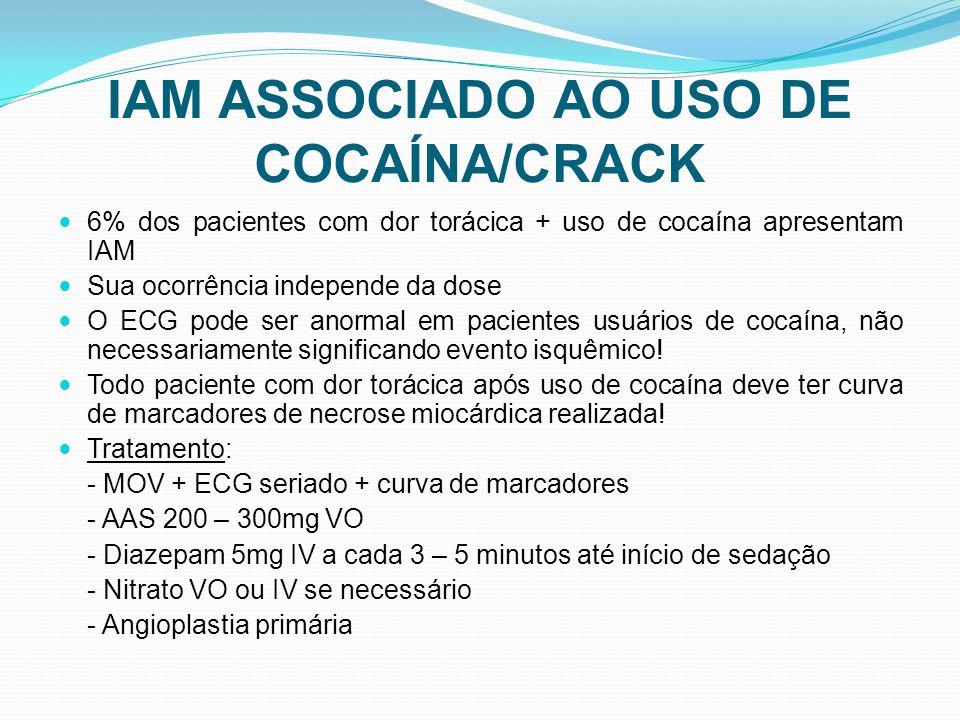IAM ASSOCIADO AO USO DE COCAÍNA/CRACK
