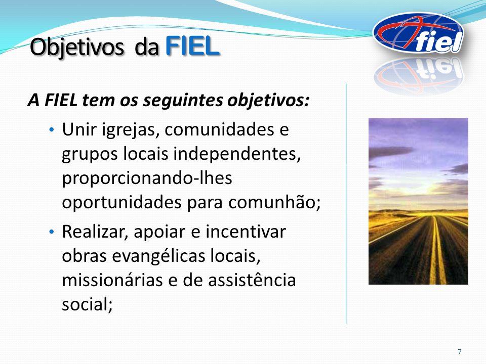 Objetivos da FIEL A FIEL tem os seguintes objetivos: