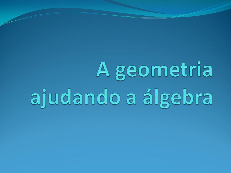 A geometria ajudando a álgebra