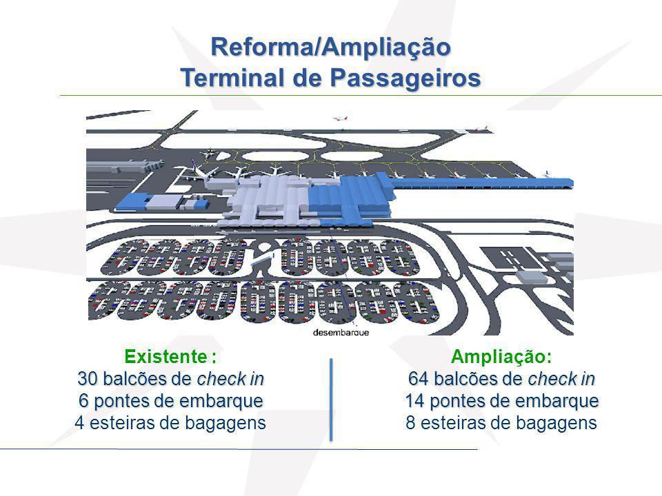 Reforma/Ampliação Terminal de Passageiros