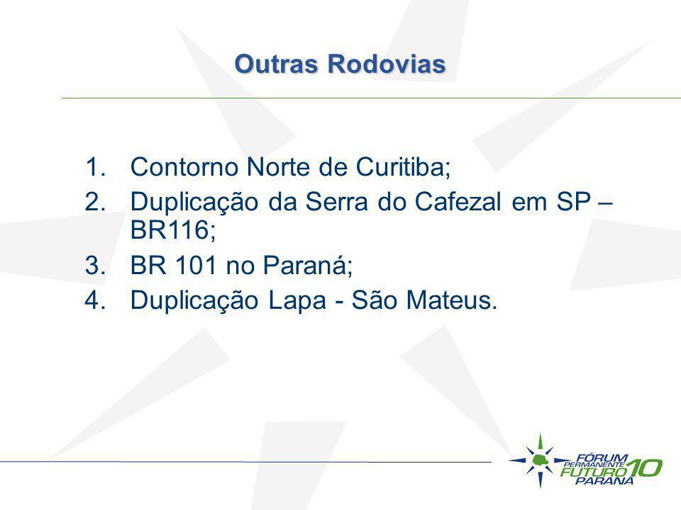 Contorno Norte de Curitiba;