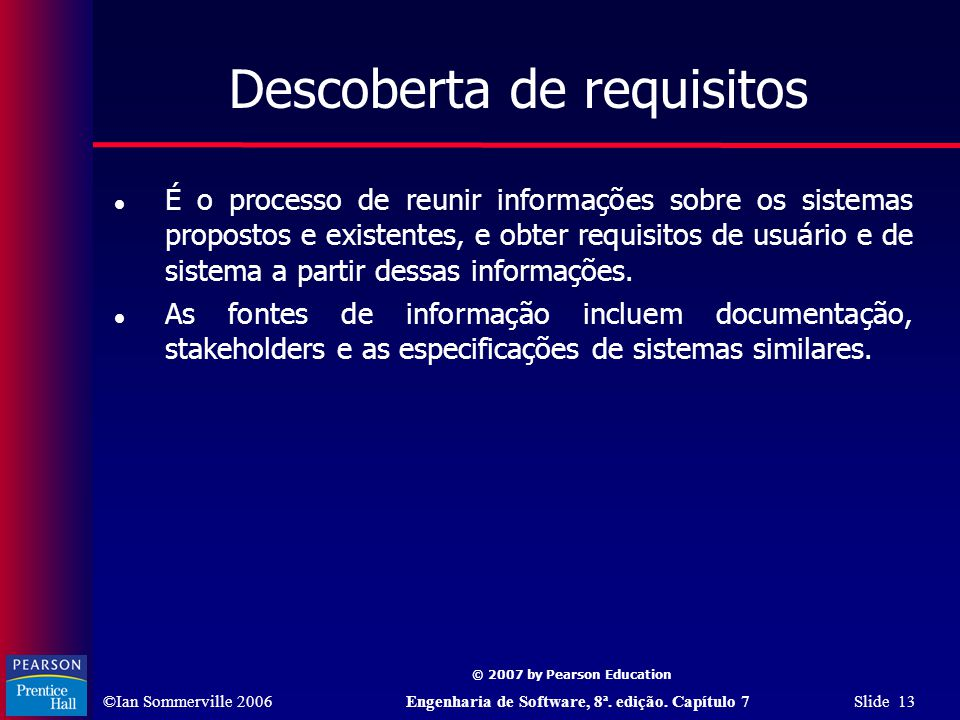 Descoberta de requisitos