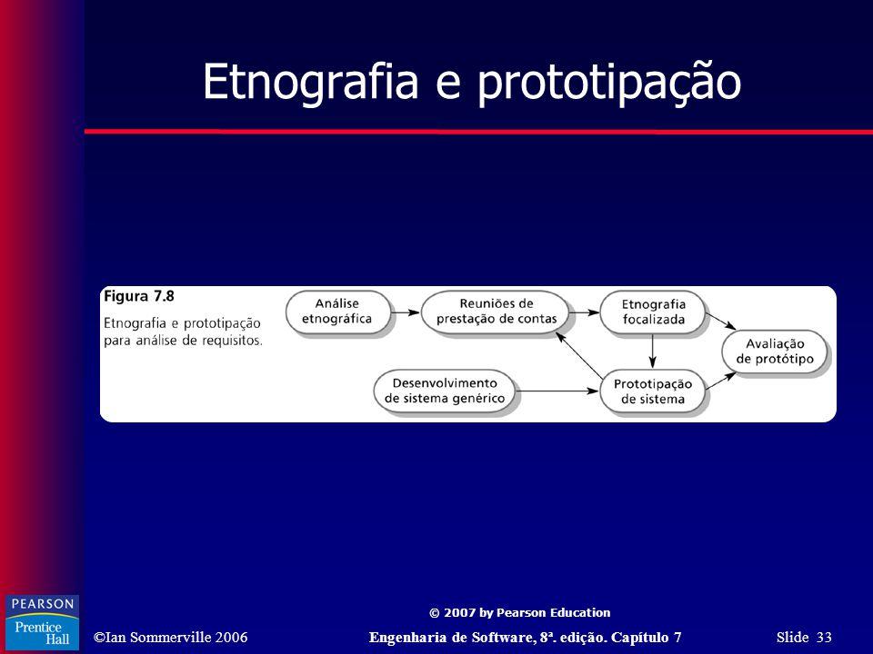 Etnografia e prototipação