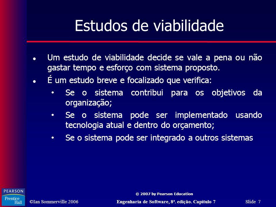 Estudos de viabilidade