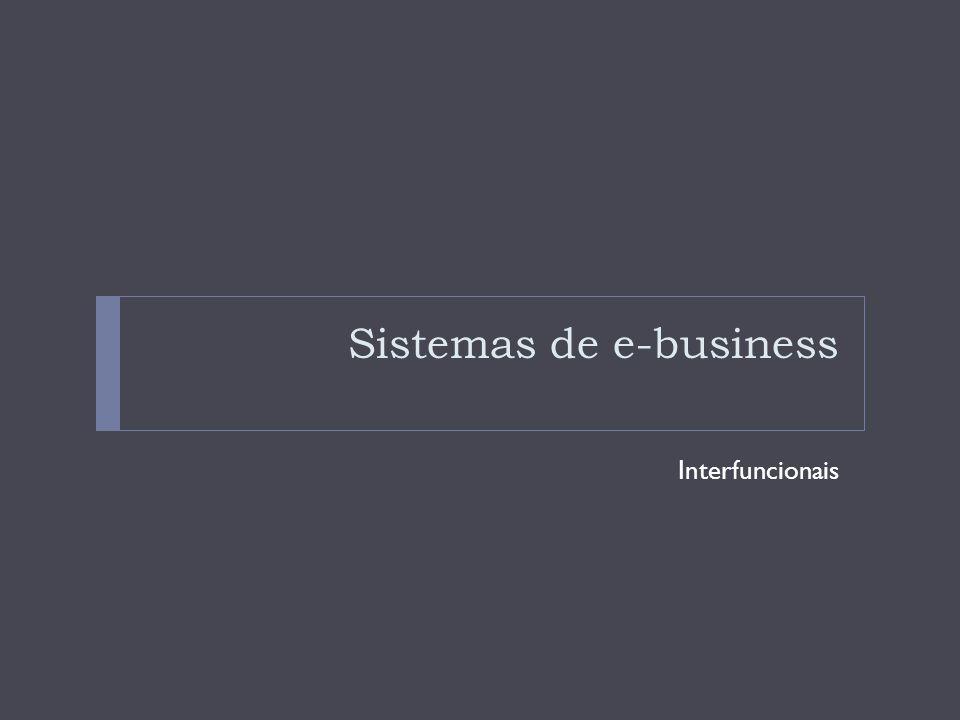 Sistemas de e-business