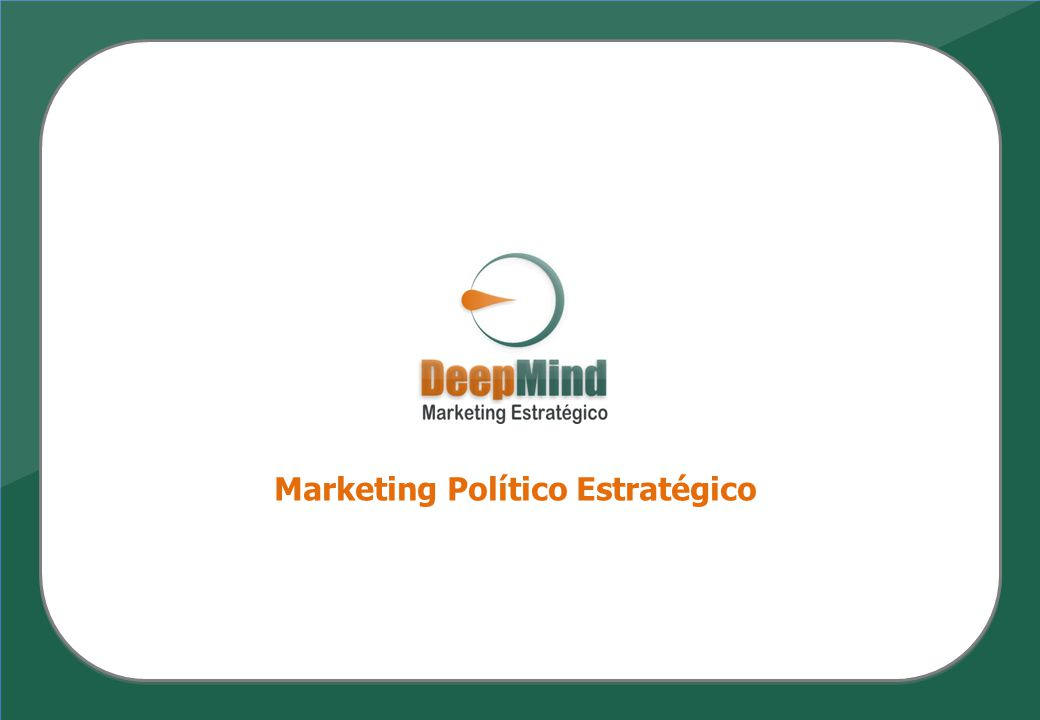 Marketing Político Estratégico