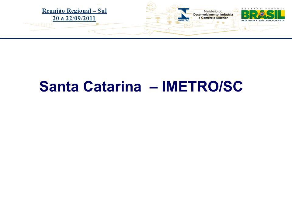 Santa Catarina – IMETRO/SC