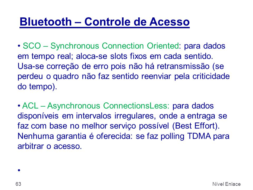 Bluetooth – Controle de Acesso