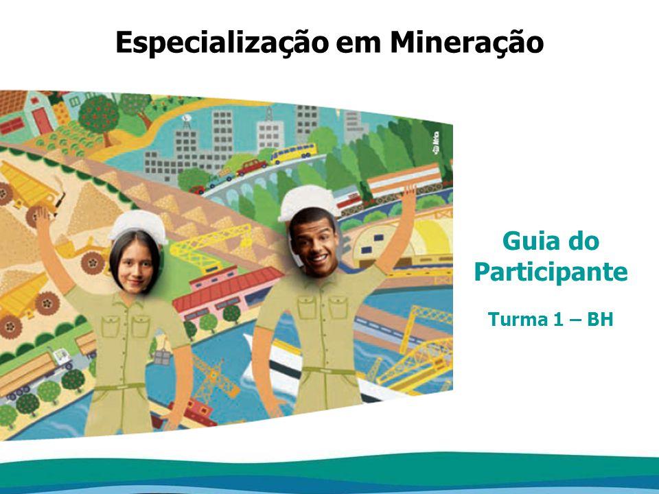 Especialização em Mineração