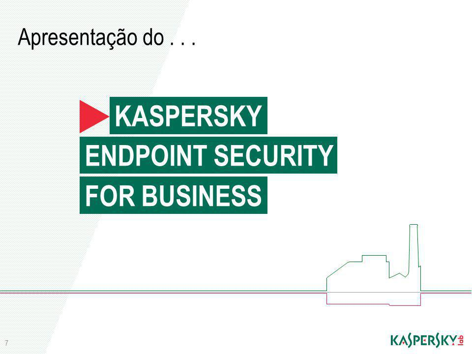 KASPERSKY ENDPOINT SECURITY FOR BUSINESS Apresentação do . . .