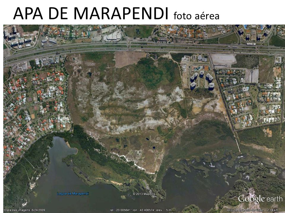 APA DE MARAPENDI foto aérea