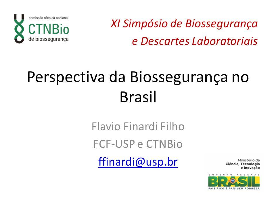 Perspectiva da Biossegurança no Brasil