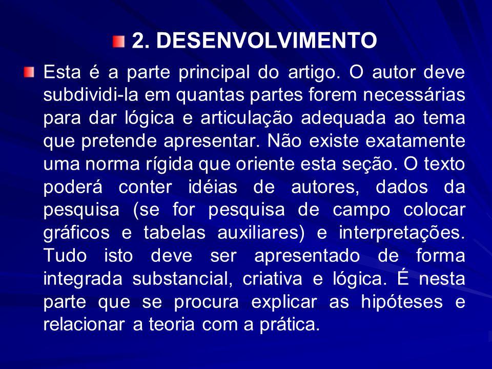 2. DESENVOLVIMENTO