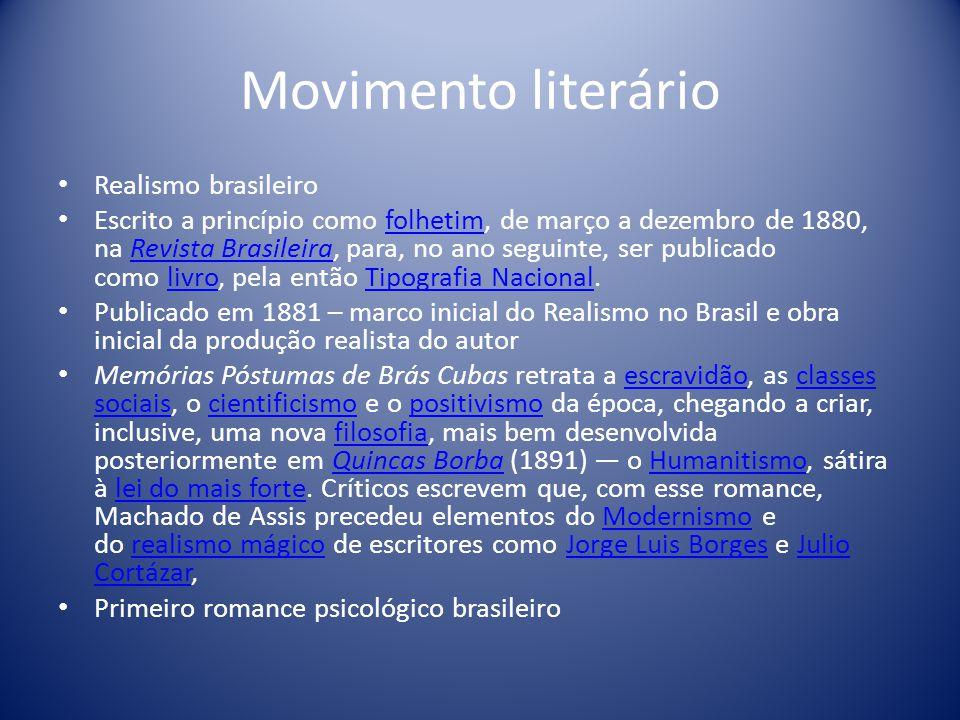 Movimento literário Realismo brasileiro