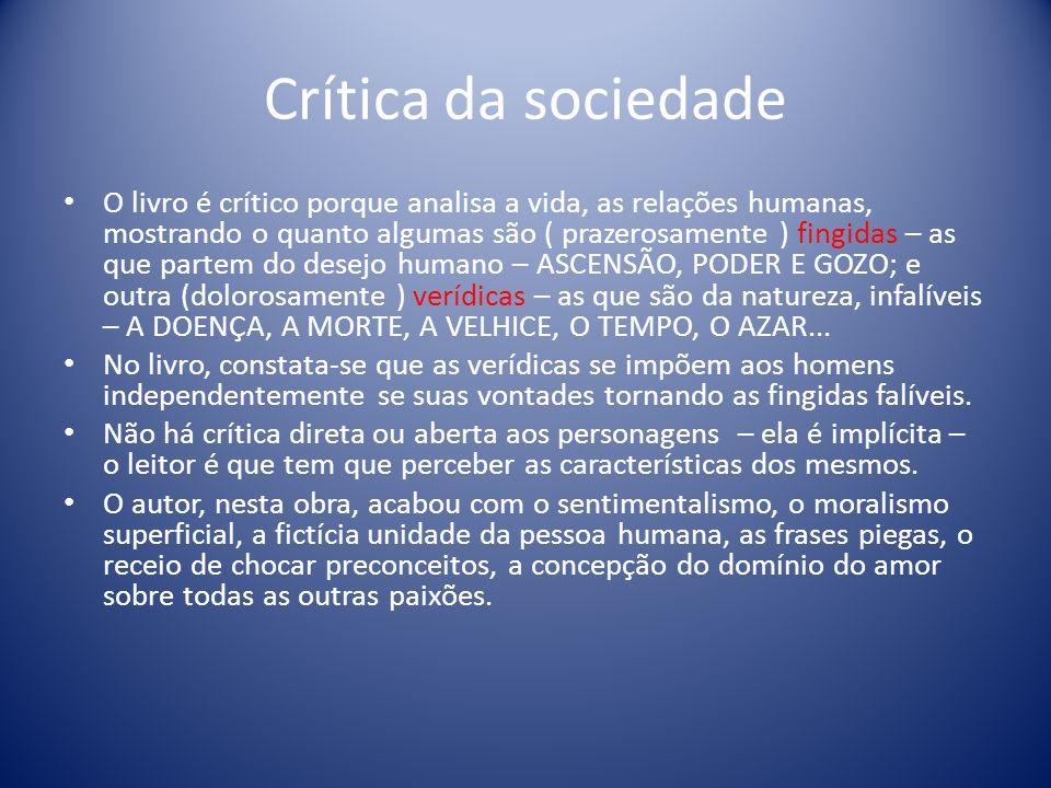 Crítica da sociedade