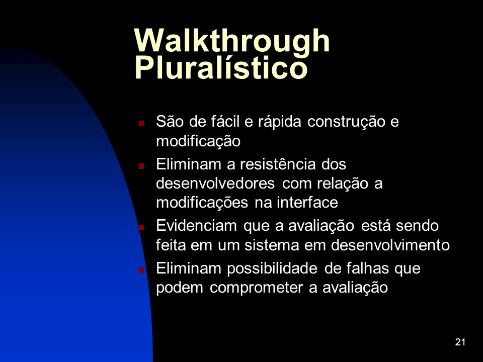 Walkthrough Pluralístico