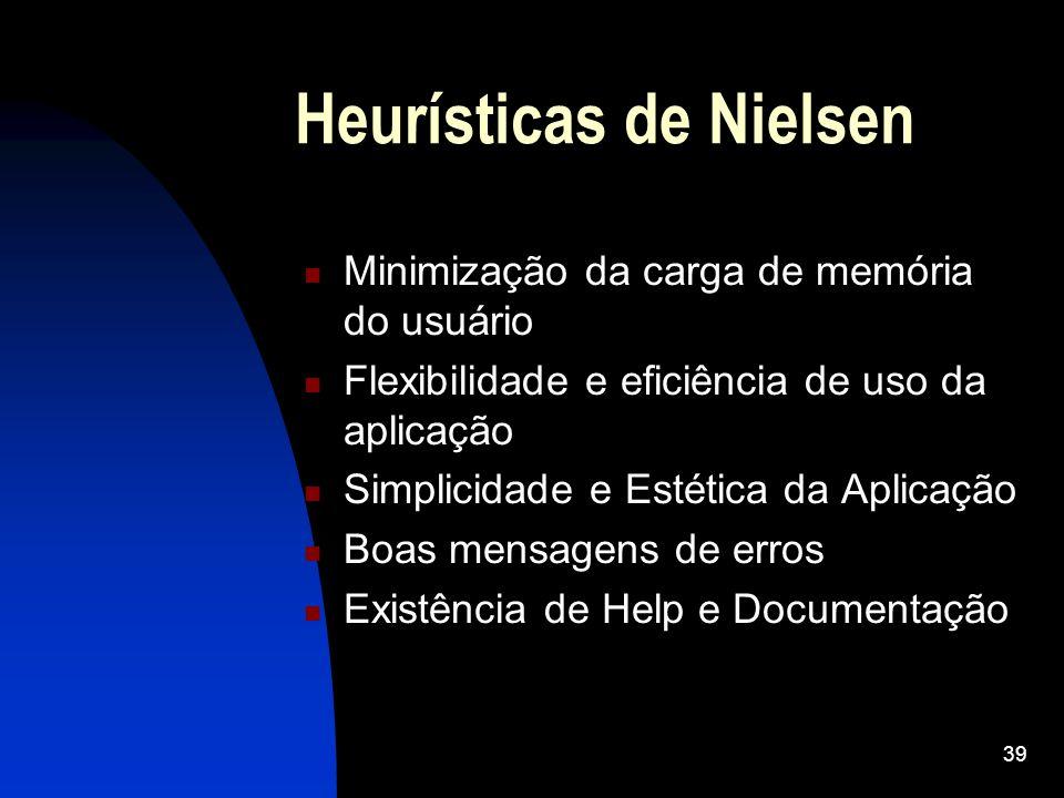 Heurísticas de Nielsen