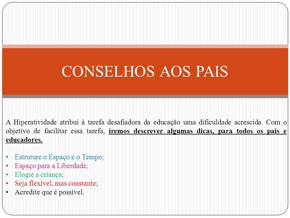 CONSELHOS AOS PAIS