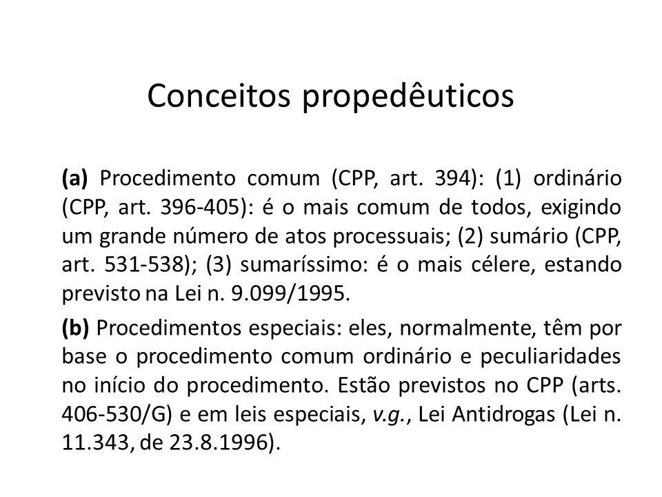 Conceitos propedêuticos