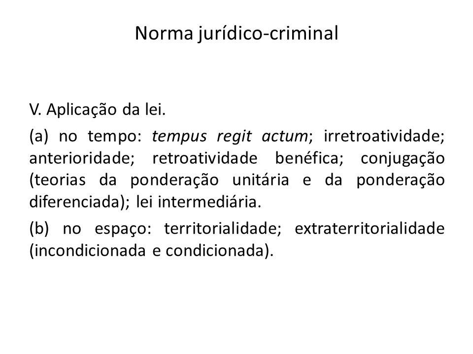 Norma jurídico-criminal