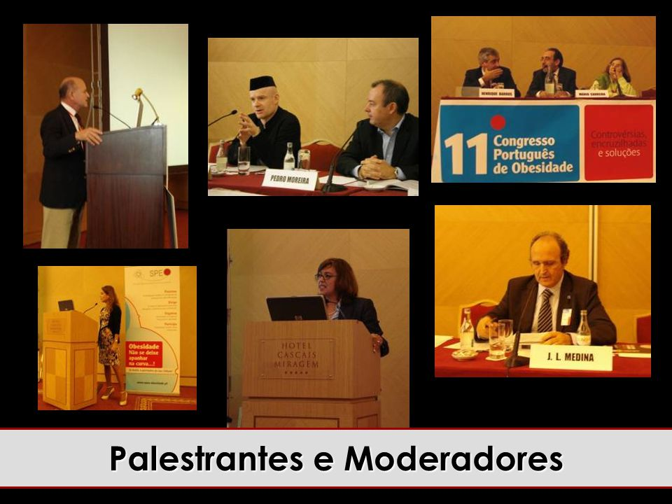 Palestrantes e Moderadores