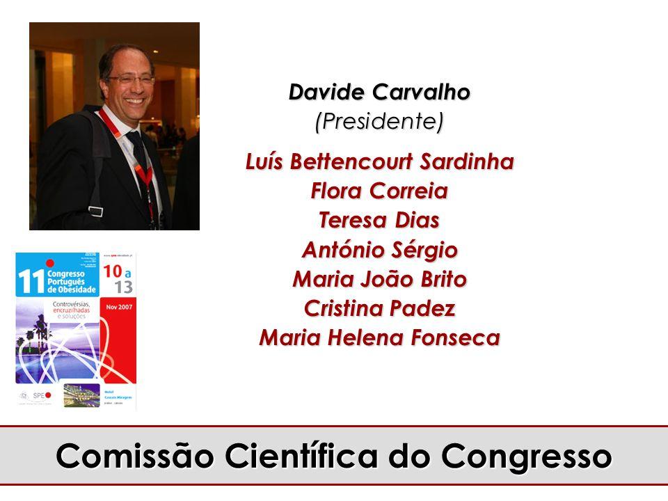 Luís Bettencourt Sardinha Comissão Científica do Congresso