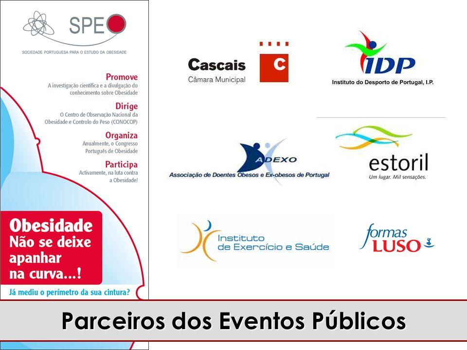 Parceiros dos Eventos Públicos