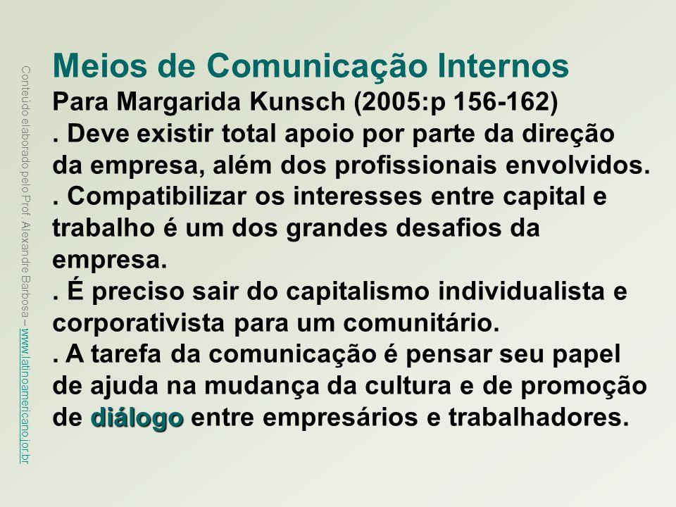 Meios de Comunicação Internos