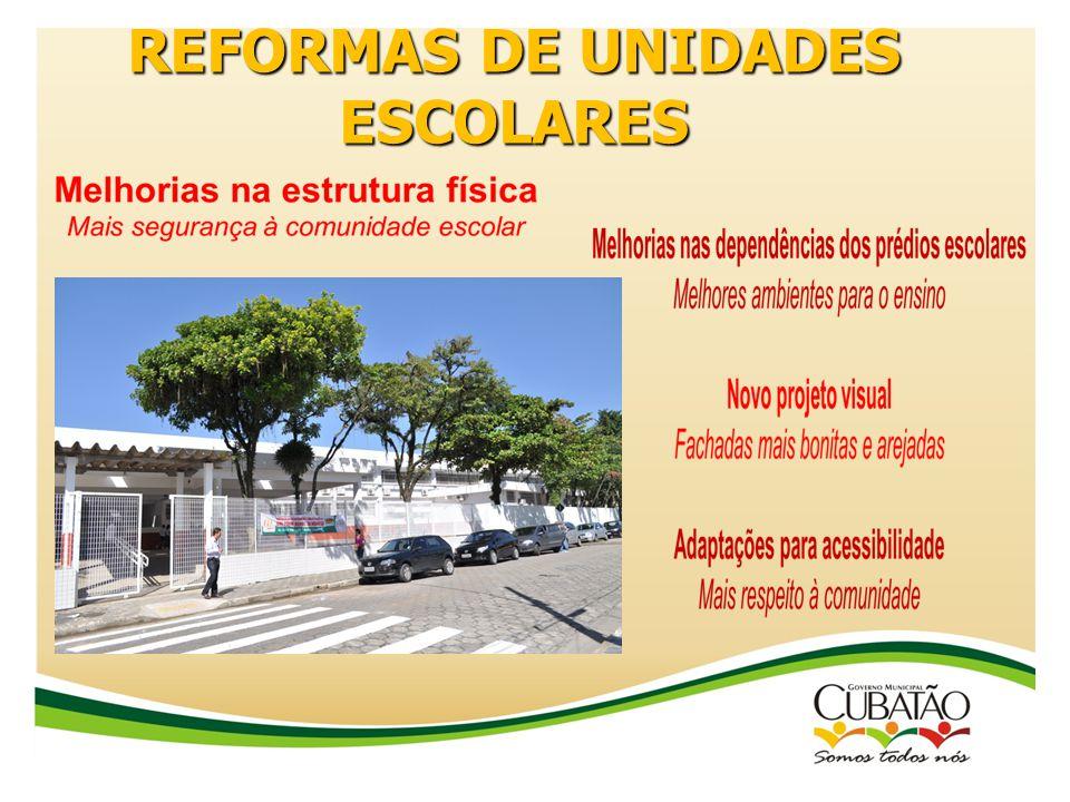 REFORMAS DE UNIDADES ESCOLARES