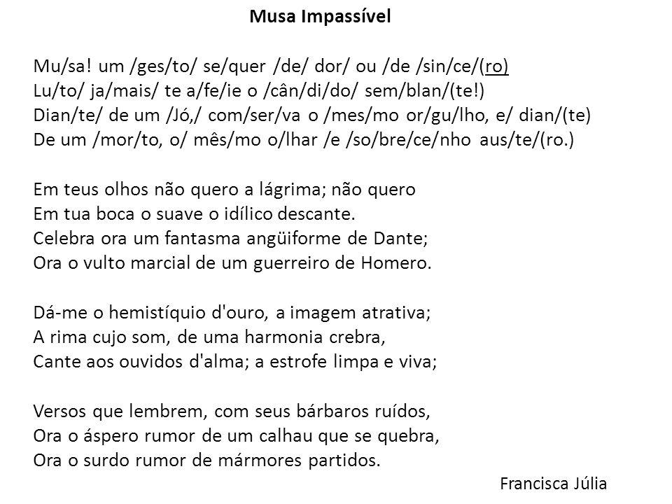 Musa Impassível