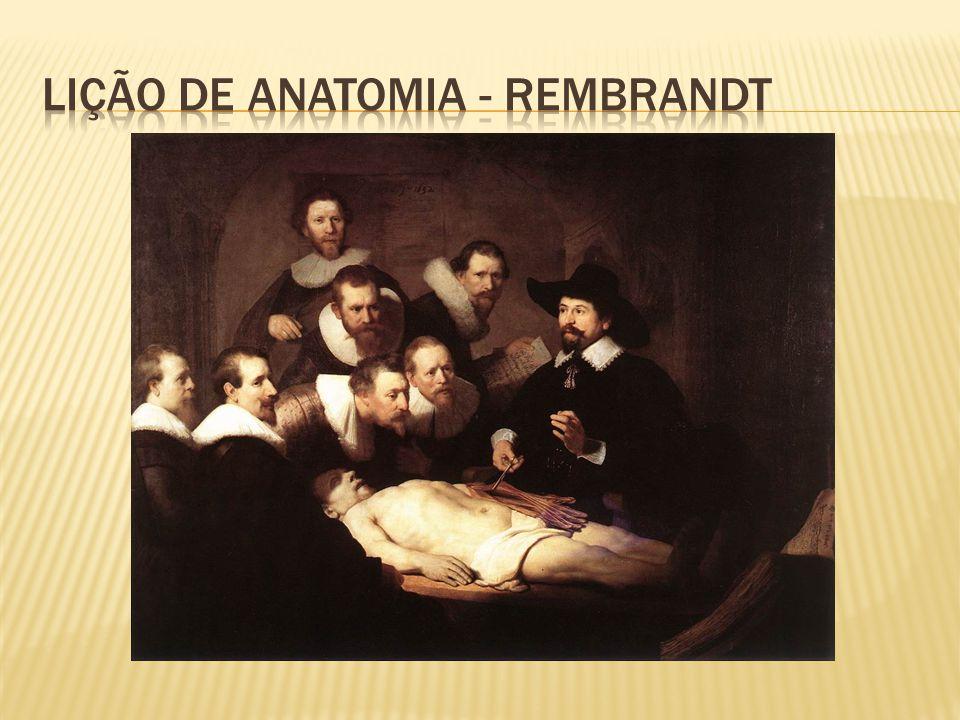 Lição de anatomia - rembrandt
