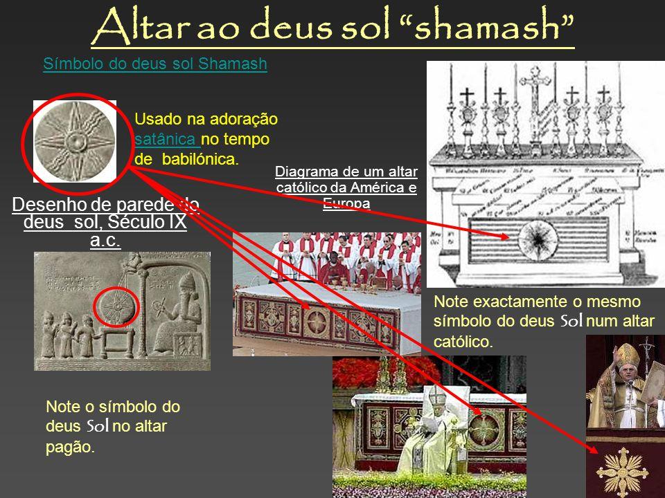 Altar ao deus sol shamash