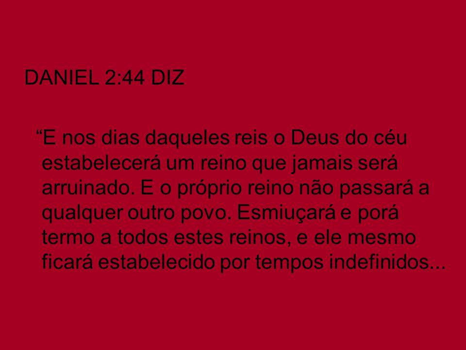 DANIEL 2:44 DIZ