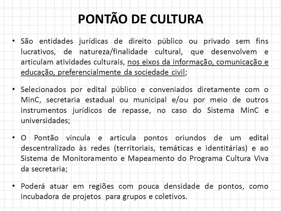 PONTÃO DE CULTURA