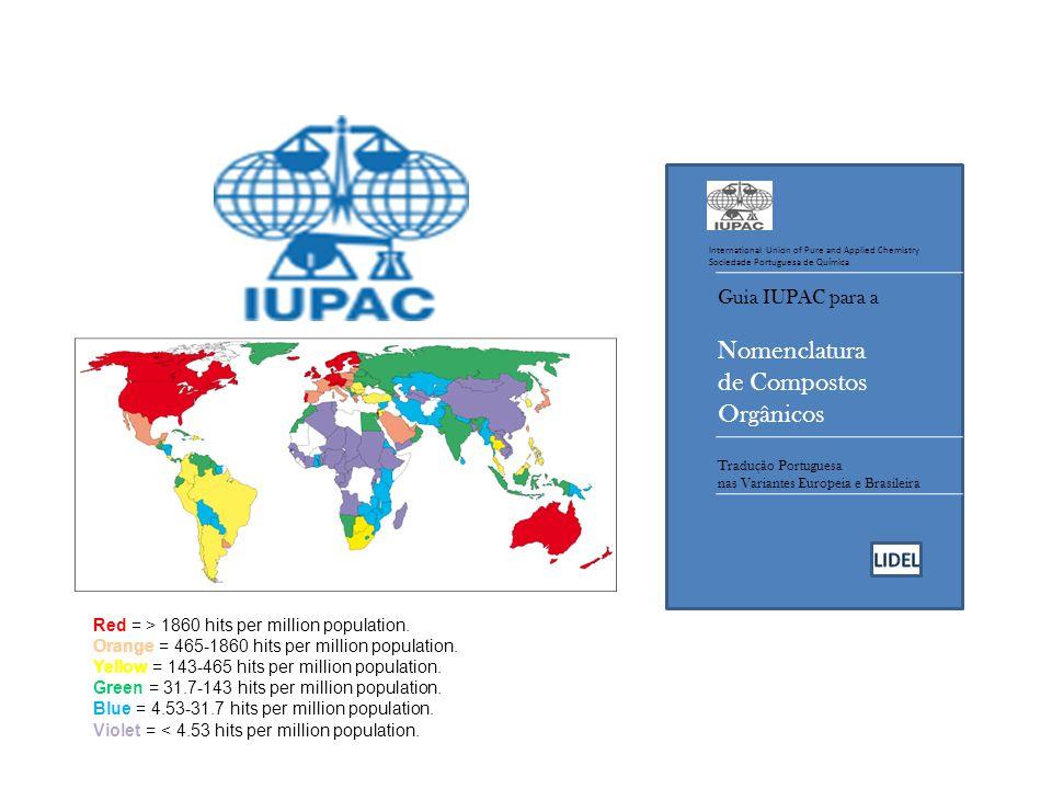 Nomenclatura de Compostos Orgânicos Guia IUPAC para a LIDEL