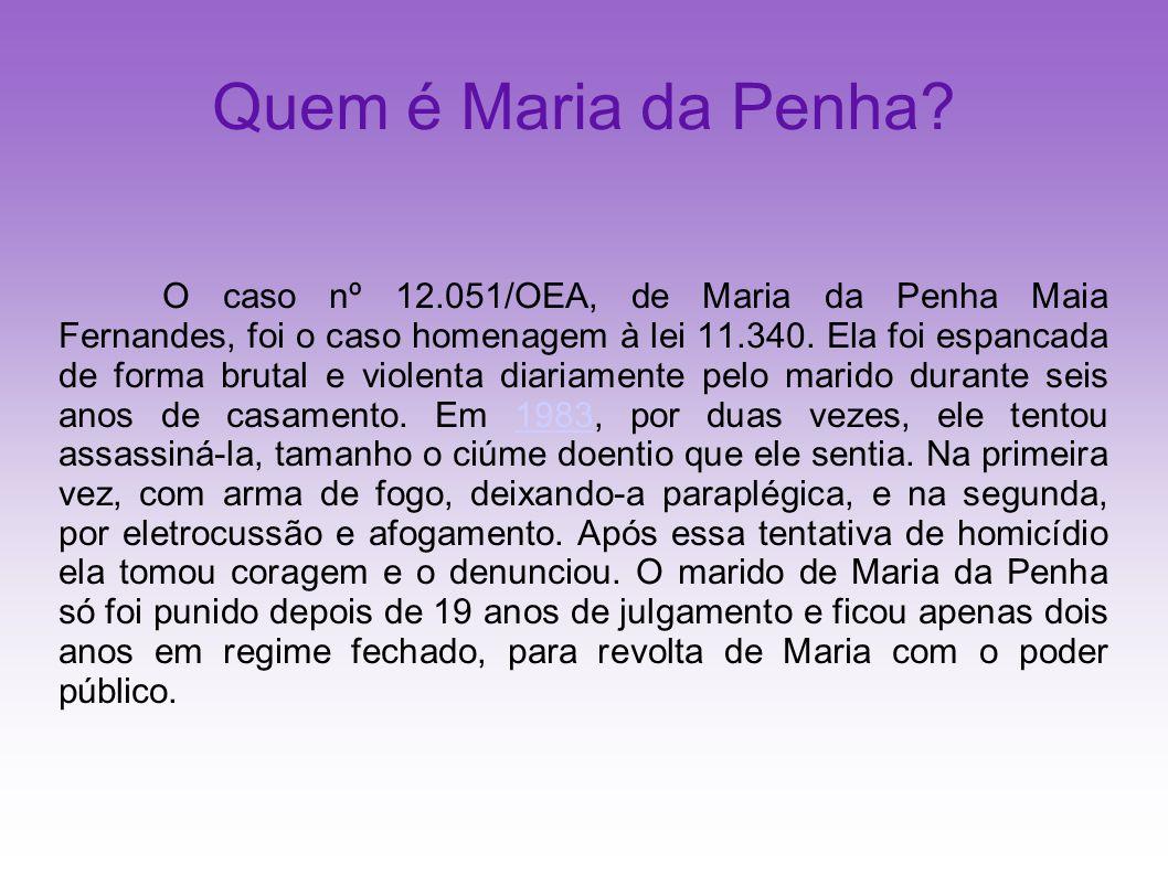 Quem é Maria da Penha