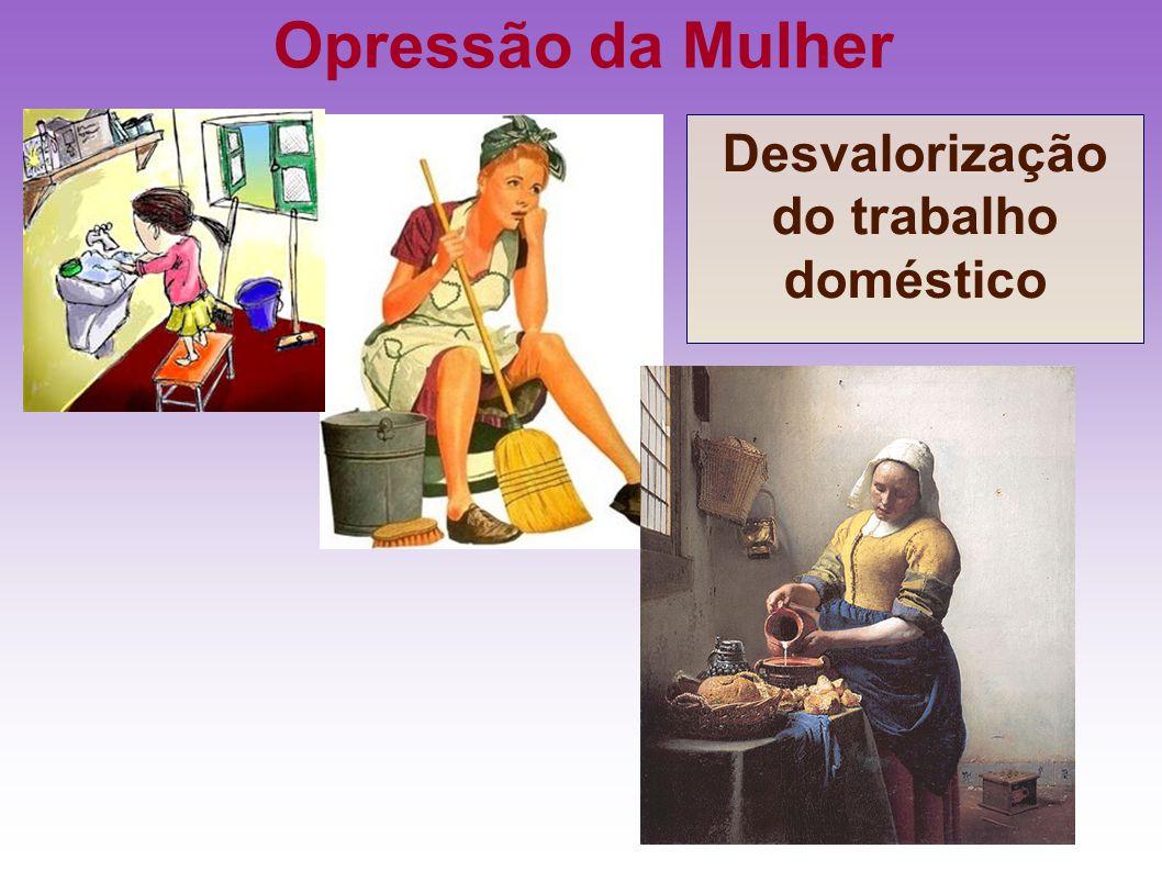 Desvalorização do trabalho doméstico