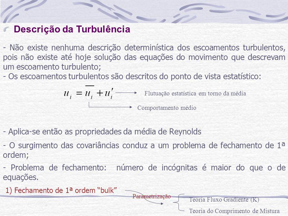 Descrição da Turbulência
