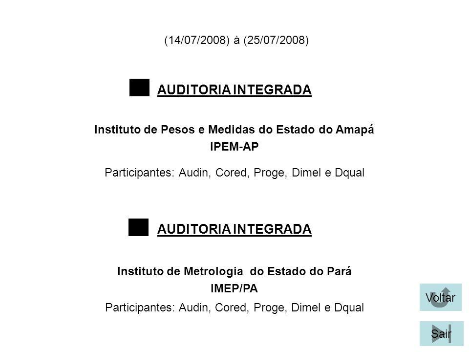Participantes: Audin, Cored, Proge, Dimel e Dqual