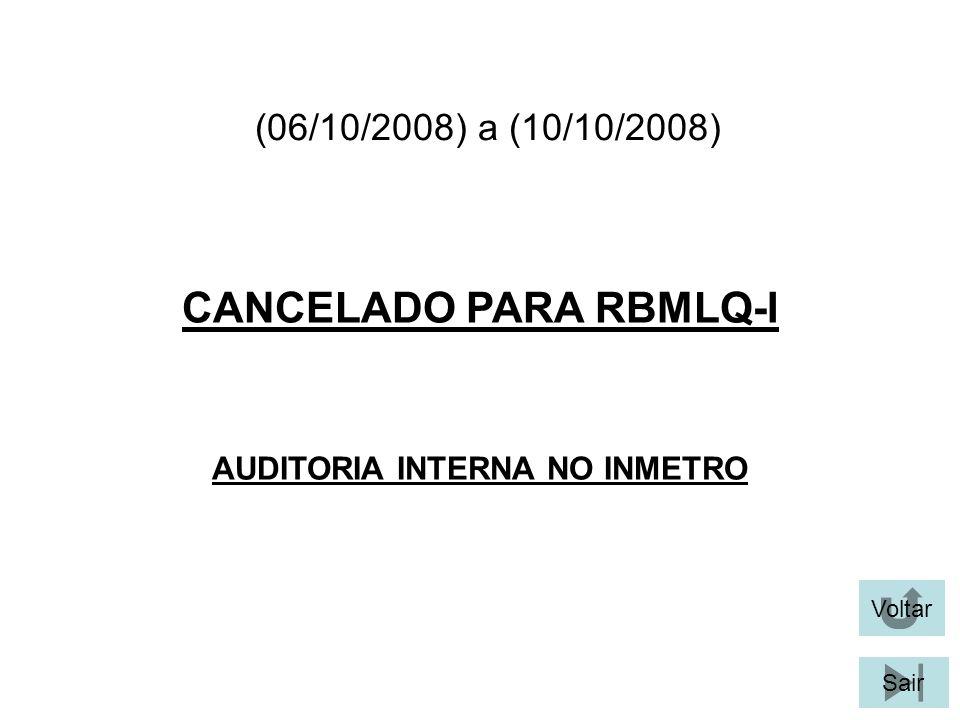 CANCELADO PARA RBMLQ-I AUDITORIA INTERNA NO INMETRO