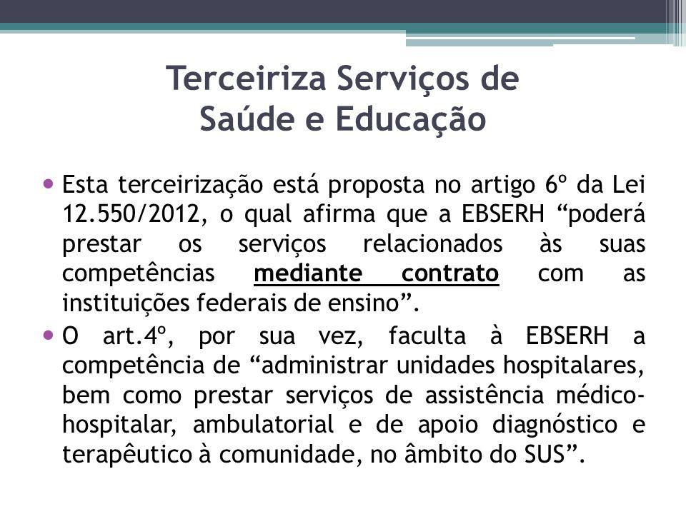 Terceiriza Serviços de Saúde e Educação